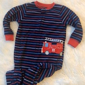 Carter's fleece footie pajamas. Size 2T